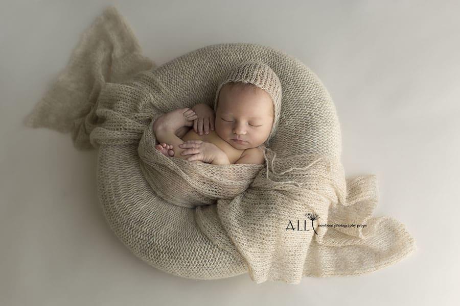Miraji taja collection tan all newborn props